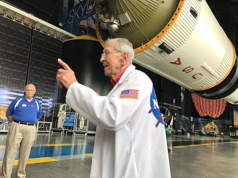 Alex McCool at U.S. Space & Rocket Center