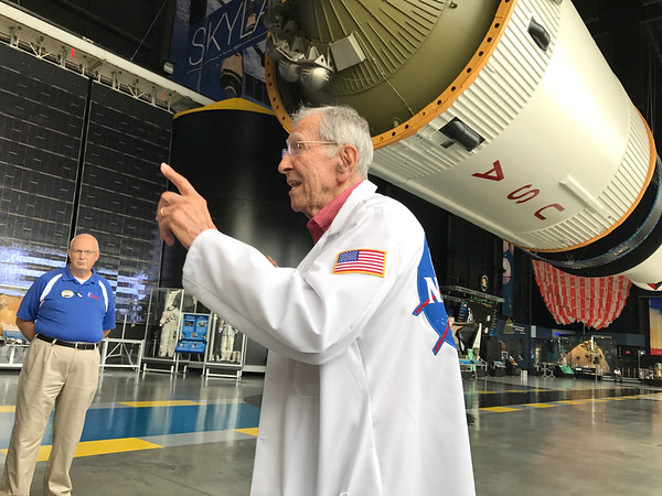 Alex McCool at U.S. Space & Rocket Center