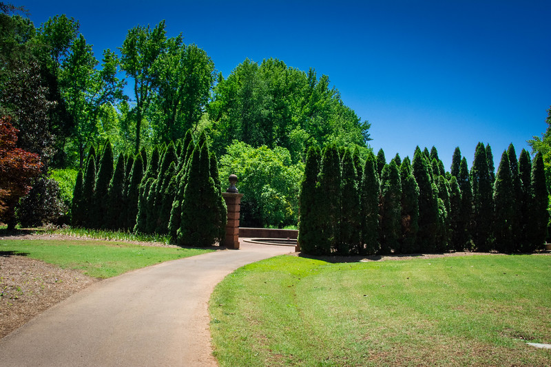 self guided tour huntsville botanical garden