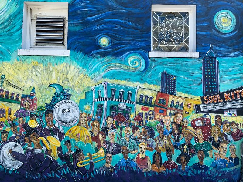 souls of mobile mural