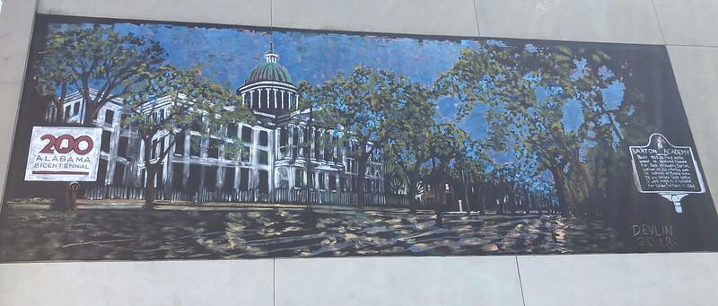 barton academy mural