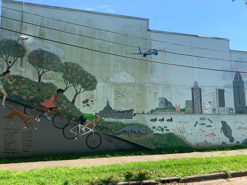 delta bike project mural