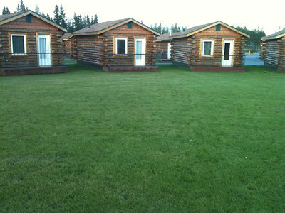 out cabins at the Fairbanks hotel