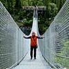 White Pass summit, Suspension Bridge  57 feet above the roaring rapids