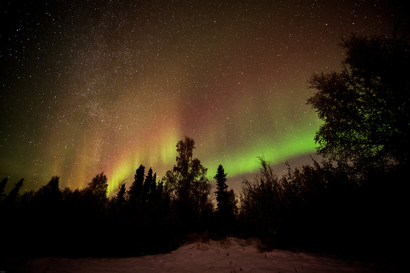 Northern Light at Fairbanks, Alaska