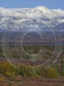 Denali Hwy Cantwell Viewpoint Alaska Panoramic Landscape Photography Spring Landscape Photography - 020426 - 09-09-2016 - 7773x10412 Pixel