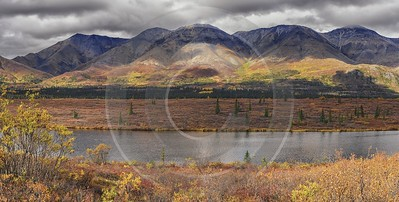 Cantwell George Parks Hwy Viewpoint Alaska Panoramic Landscape Fine Art America Cloud - 020277 - 06-09-2016 - 15406x7797 Pixel