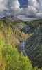 Cantwell Hurrican Gulch Bridge Viewpoint Alaska Panoramic Landscape Sky Fine Art Printing - 020361 - 06-09-2016 - 7792x12775 Pixel