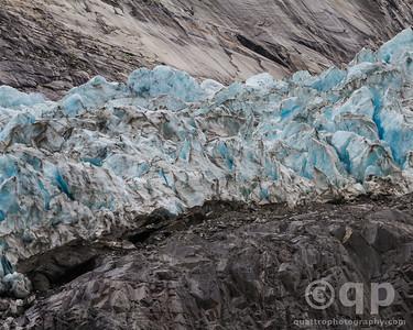 GLACIER BLUE ICE