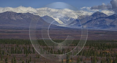 Denali Hwy Paxon Viewpoint Alaska Panoramic Landscape Photography Modern Art Prints - 020312 - 09-09-2016 - 14199x7653 Pixel