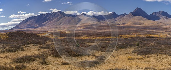Denali Hwy Paxon Viewpoint Alaska Panoramic Landscape Photography River - 020188 - 09-09-2016 - 18586x7590 Pixel