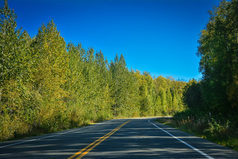 scenic byways in the fall