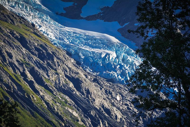portage valley glacier