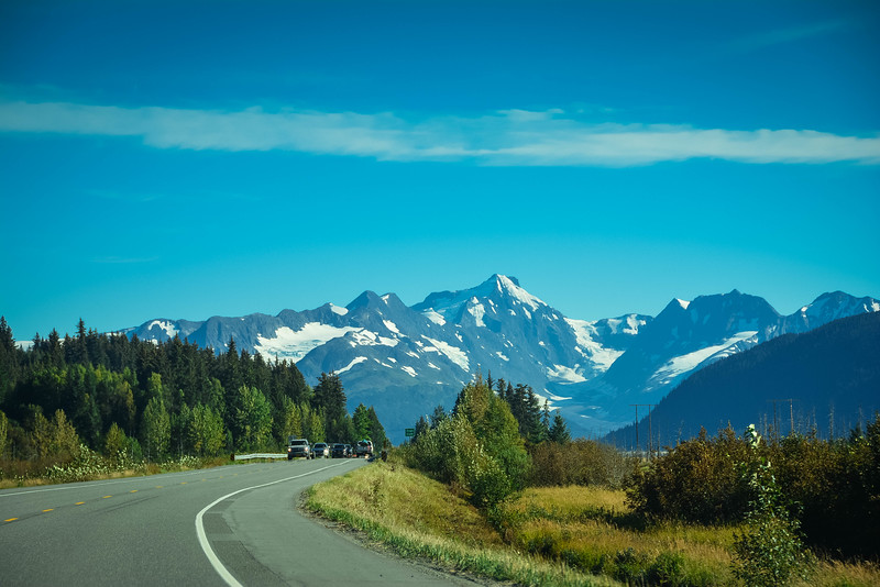 scenic drive from anchorage to seward