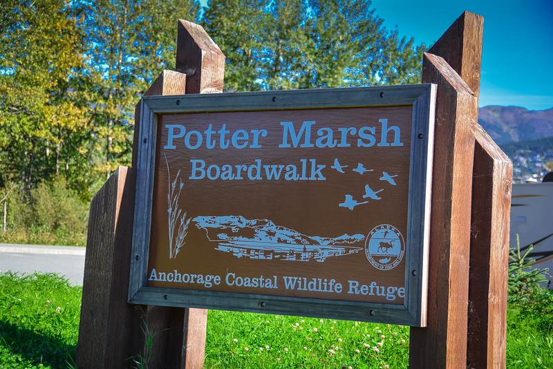 potter marsh boardwalk