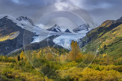 Single Shot Alaska Usa Panoramic Landscape Photography Scenic Image Stock Fine Art Print City - 020891 - 17-09-2016 - 7952x5304 Pixel