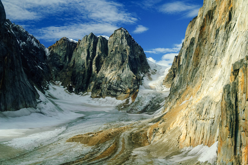 Glacier near Mt. MCKinley