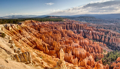 A full frame view of Bryce Canyon, Utah from Bryce Point. There are as many photographs here as there are formations. A truly amazing place with miles of trails to wander.