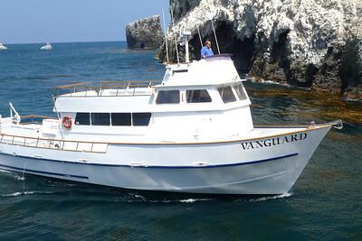 Anacapa Island - Island Packers boat
