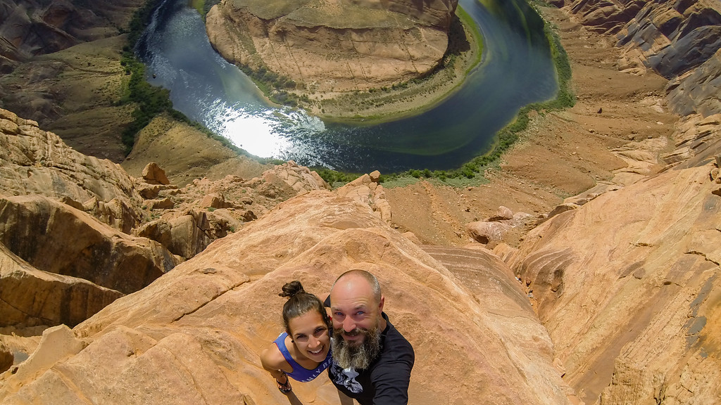 Horseshoe Bend Cliff Drop