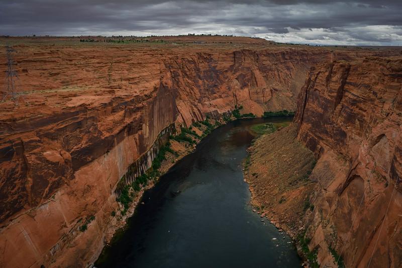 glen canyon dam northeast arizona