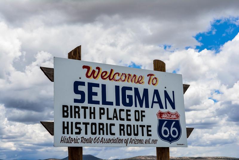 driving route 66 seligman arizona