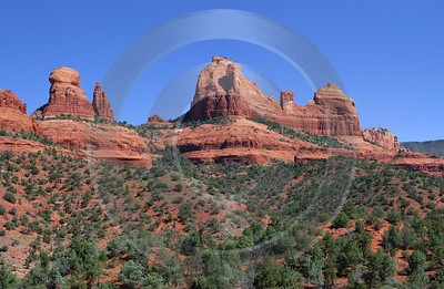 Sedona Schnebly Hill Road Arizona Desert Red Rock Art Photography For Sale Images - 011084 - 29-09-2011 - 6476x4222 Pixel