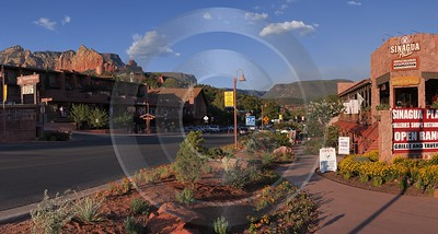 Sedona Arizona Usa Desert Red Rock Formation Valley Leave Fog Art Photography For Sale - 011121 - 29-09-2011 - 7785x4171 Pixel