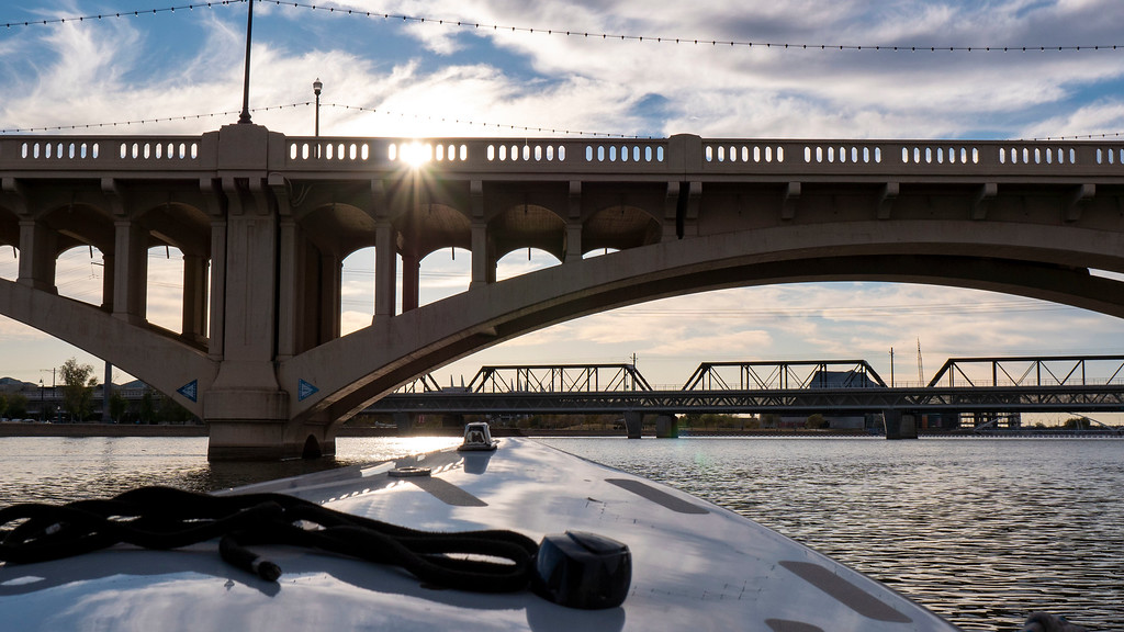 Things to do in Tempe AZ: Boat ride at Tempe Town Lake