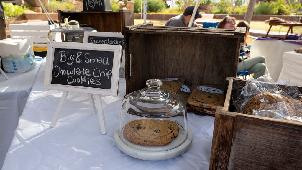 Things to do in Tempe AZ: Vegan cookies at 6th street market