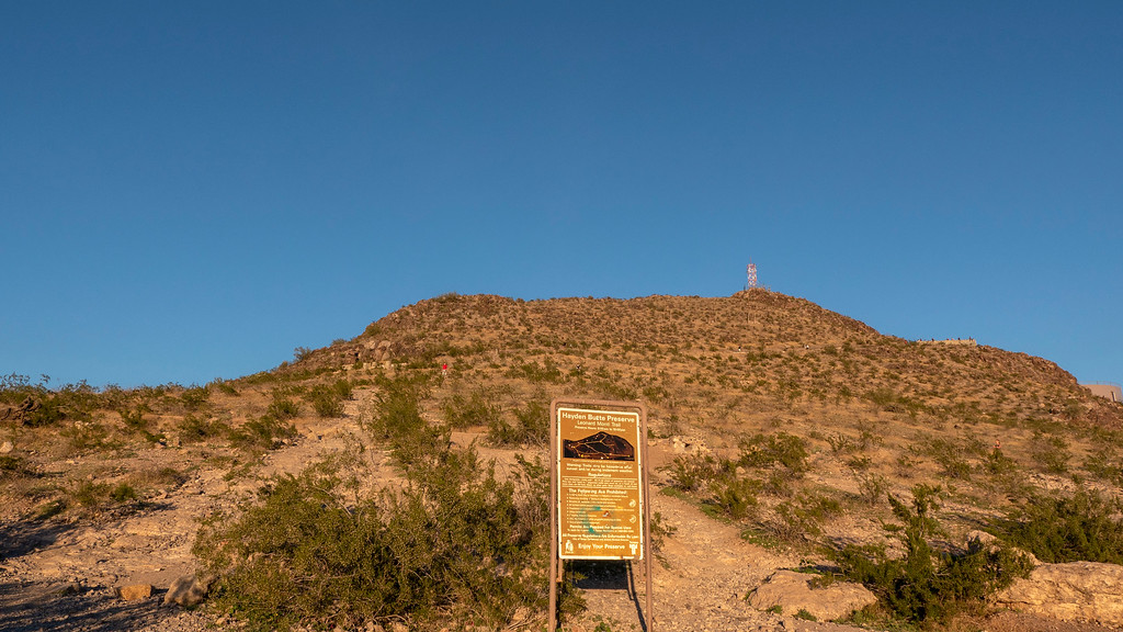 Things to do in Tempe AZ: Hiking A Mountain