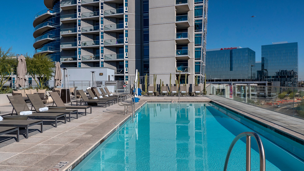 Things to do in Tempe AZ: AC Hotel by Marriott Phoenix Tempe rooftop pool