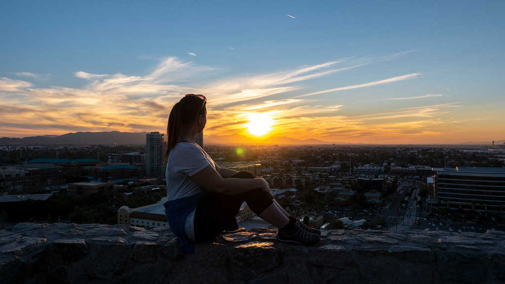 Full time travel blogging: Tempe Arizona
