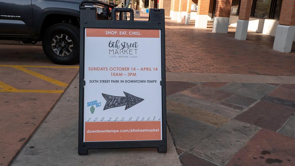 Tempe Vegan Restaurant Guide: 6th Street Market