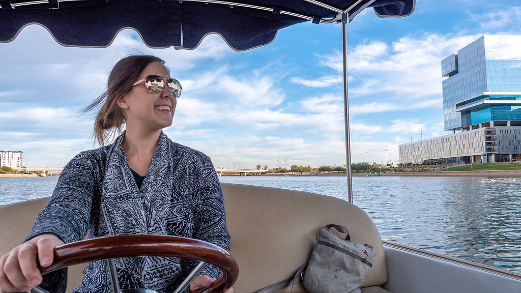 Things to do in Tempe AZ: Boating at Tempe Town Lake