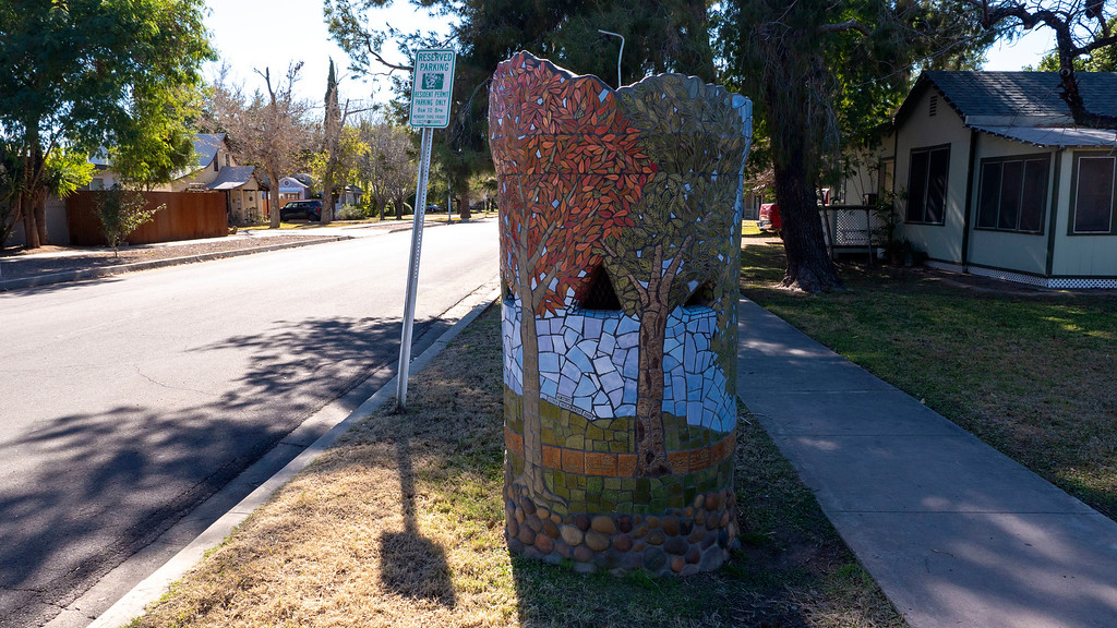 Things to do in Tempe AZ: Repurposed public art standpipes in Maple Ash neighborhood