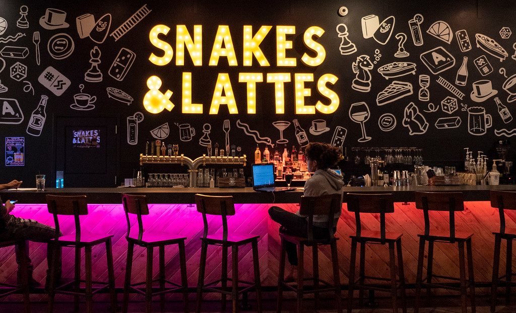 Things to do in Tempe AZ: Snakes & Lattes board game cafe