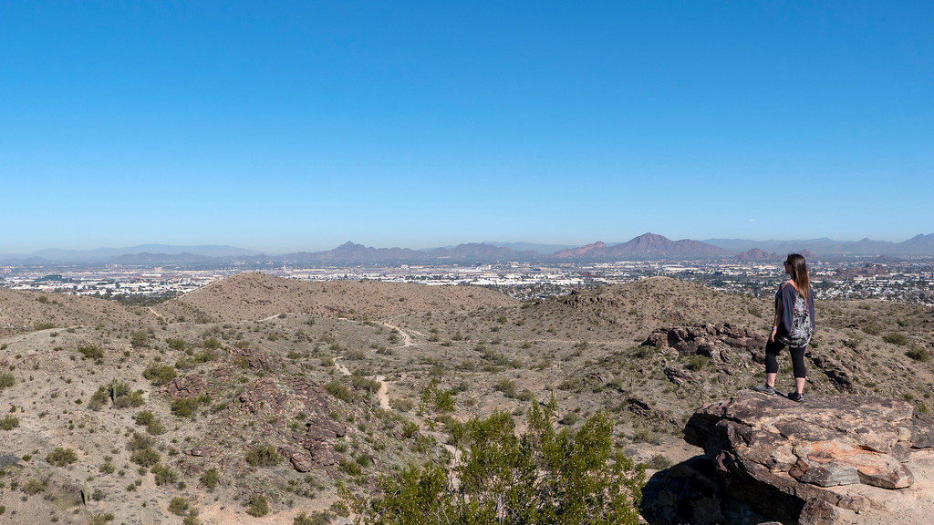 Things to do in Tempe AZ: South Mountain panoramic views