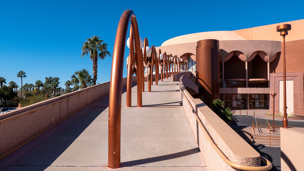Things to do in Tempe AZ: Frank Lloyd Wright building