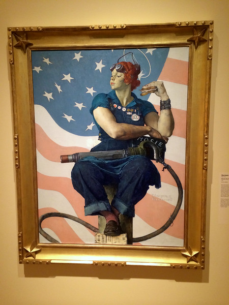 Rosie the Riveter by Normal Rockwell