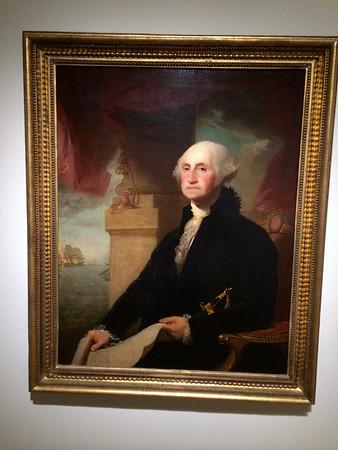 Gilbert Stuart portrait of George Washington