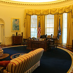 Oval Office at Clinton Presidential Library – Little Rock, Arkansas – Photo
