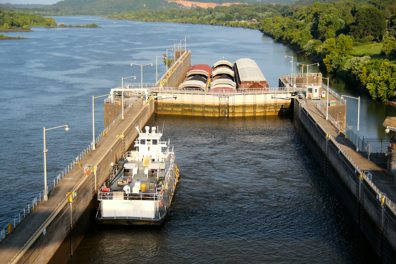 Arkansas River locks