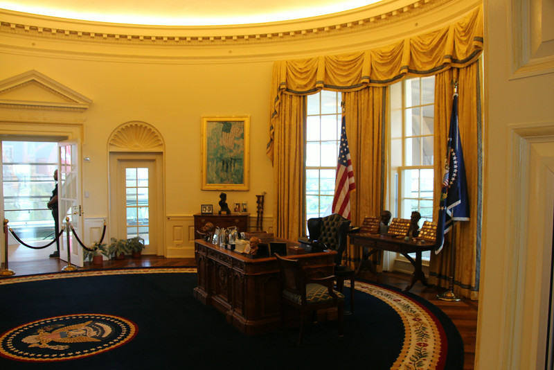 Oval Office at Clinton Presidential Library