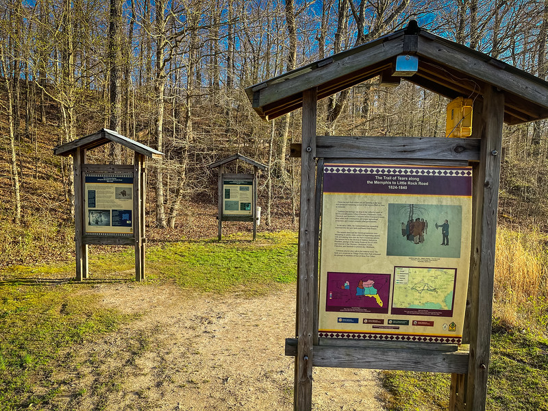 trail of tears village creek state park