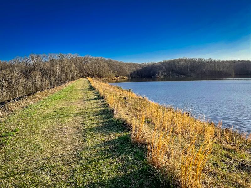 military road trail village creek state park