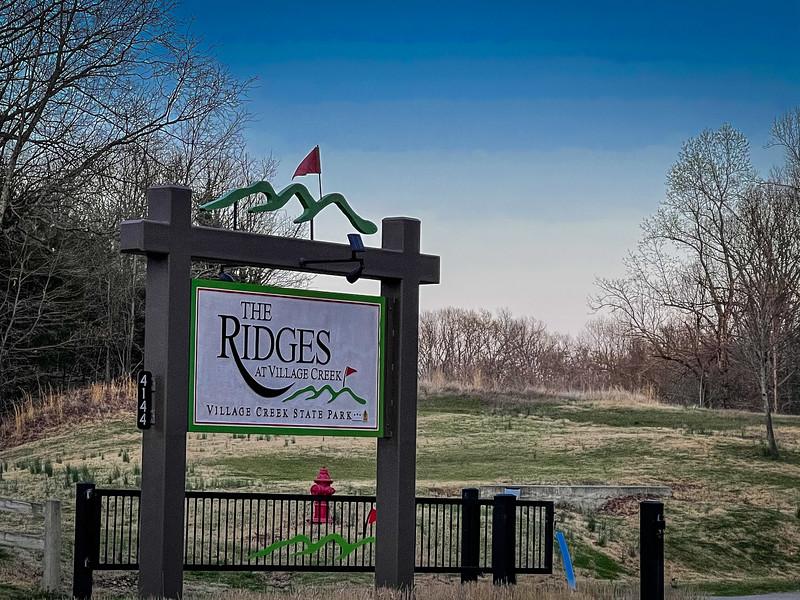 ridges at village creek golf course