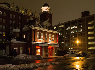 The old firehouse, now Kendall Hotel