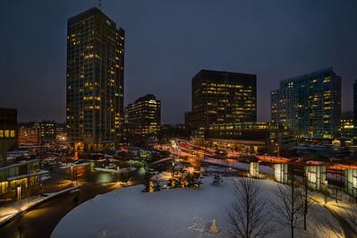 Snowman at Kendall/MIT