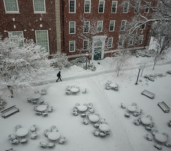 Snowday at Harvard Business School
